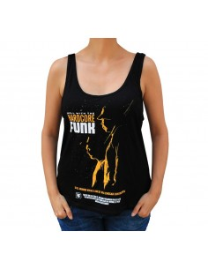 "Camiseta  chica JAVATO JONES ""ROLL WITH THE HARDCORE FUNK"""