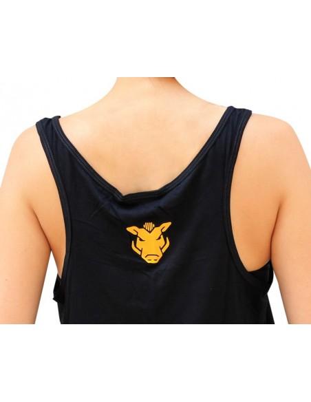 "Camiseta  chica JAVATO JONES ""ROLL WITH THE HARDCORE FUNK"""