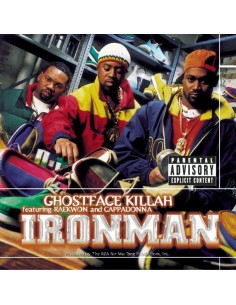 "CD GHOSTFACE KILLAH ""IRONMAN"""