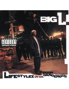 "CD BIG L ""LIFESTYLEZ OV DA POOR & DANGEROUS"""