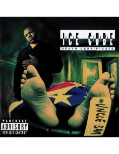 "CD ICE CUBE ""DEATH CERTIFICATE"""