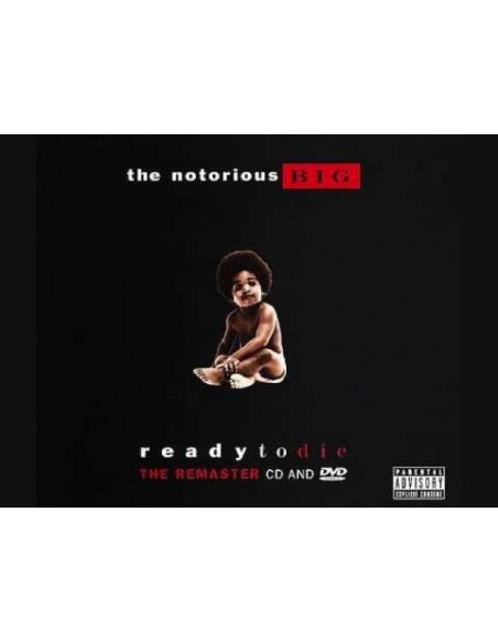 """CD + DVD THE NOTORIOUS BIG  """"READY TO DIE"""""""