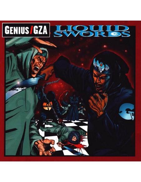 """CD GENIUS/GZA """"LIQUID SWORDS"""""""