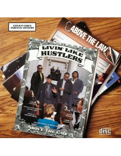 "VINILO LP ABOVE THE LAW ""LIVIN' LIKE HUSTLERS"""