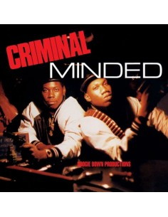 "VINILO LP BOOGIE DOWN PRODUCTIONS ""CRIMINAL MINDED"""