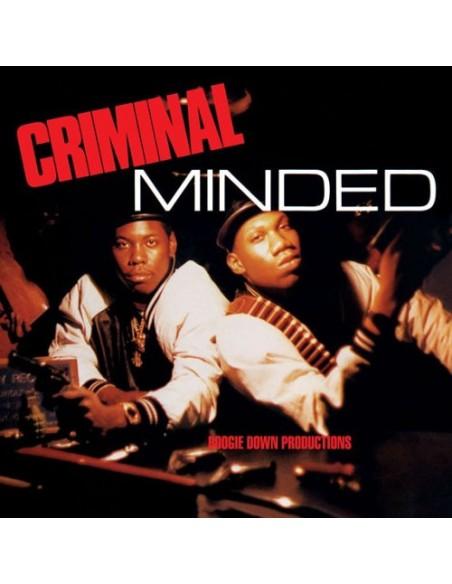 """VINILO 2LP BOOGIE DOWN PRODUCTIONS """"CRIMINAL MINDED"""""""