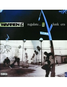 "CD WARREN G ""REGULATE... G FUNK ERA"""