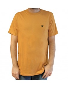 "Camiseta JAVATO JONES ""LOGO BASIC"" AMARILLA"
