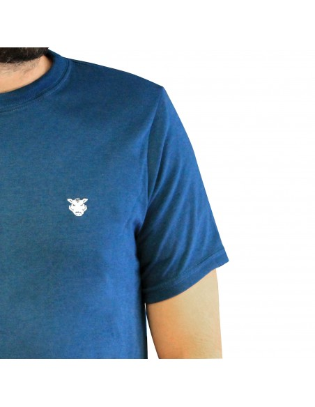"Camiseta JAVATO JONES ""LOGO BASIC"" AZUL"