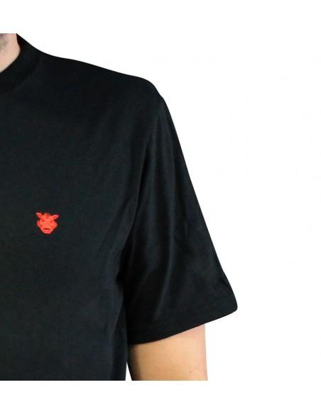 "Camiseta JAVATO JONES ""LOGO BASIC"" NEGRA"