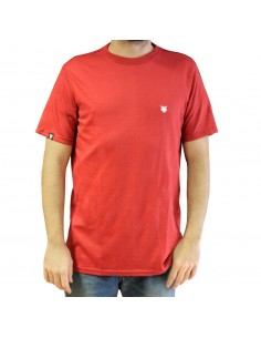 "Camiseta JAVATO JONES ""LOGO BASIC"" ROJA"