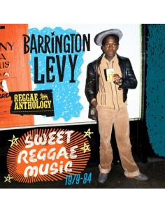 "VINILO LP BARRINGTON LEVY ""SWEET REGGAE MUSIC"""