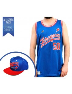 PACK RAP SOLO CAMISETA + GORRA ZARAGOZA ALL STARS
