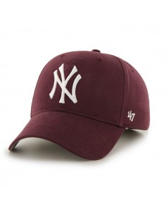 Gorra Curved visor 47 BRAND NEW YORK YANKEES MAROON
