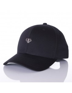 Gorra PELLE PELLE ICON PLATED CURVED BLACK