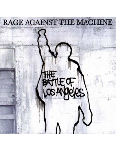 "VINILO LP RAGE AGAINST THE MACHINE ""BATTLE OF LOS ANGELES"""