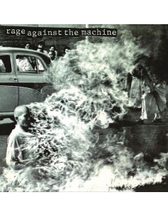 "VINILO LP RAGE AGAINST THE MACHINE ""RAGE AGAINST THE MACHINE"""