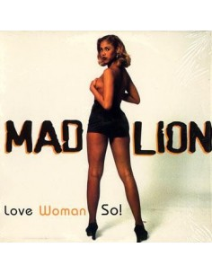 "VINILO MX MAD LION ""LOVE WOMAN SO!"""