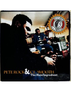 "VINILO 2LP PETE ROCK & C.L. SMOOTH ""THE MAIN INGREDIENT"""