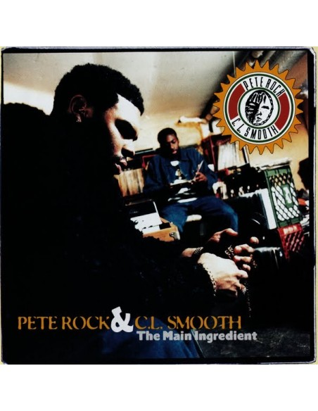 "PETE ROCK & C.L. SMOOTH ""THE MAIN INGREDIENT"" 2LP"