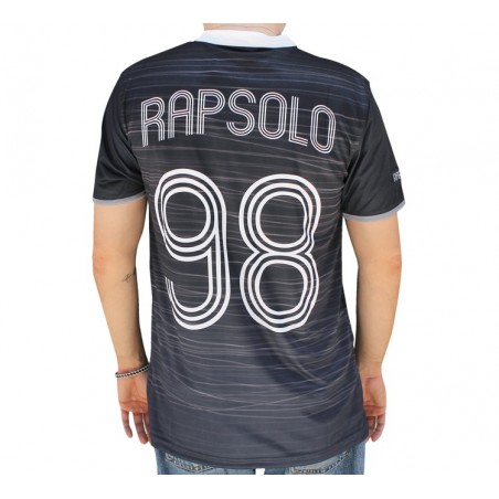 Camiseta Soccer RAP SOLO LOGO RS STRIPPED chico, de polyester en color azul marino