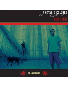 "VINILO 2LP + CD 7 NOTAS 7 COLORES ""HECHO, ES SIMPLE -XX ANIVERSARIO-"""