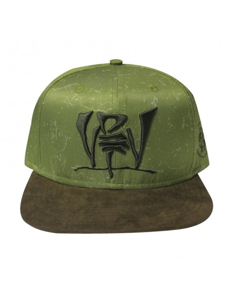 Gorra RAPSOLO VDV ARMY unisex, de algodón en color verde