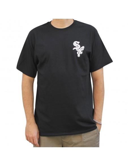 """Camiseta hombre NO PAIN NO GAIN """"SEX"""" en algodón, color negro"""