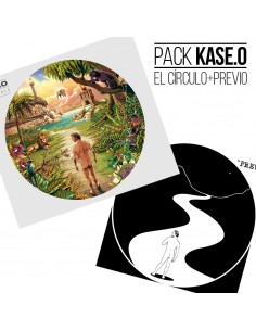 "PACK CD KASE.O ""EL CÍRCULO"" + CD-MAXI ""PREVIO"""