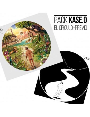 """PACK CD KASE.O """"EL CÍRCULO"""" + CD-MAXI """"PREVIO"""""""