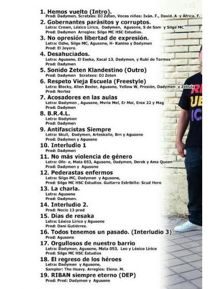 """CD SONIDO KLANDESTINO """"REGRESAMOS CON NUESTRA GENTE"""""""