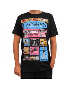 "Camiseta JAVATO JONES ""CHISMES"" NEGRA"