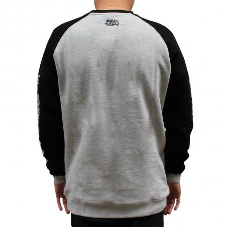 Sudadera VDV BIG LOGO unisex, en algodón color gris