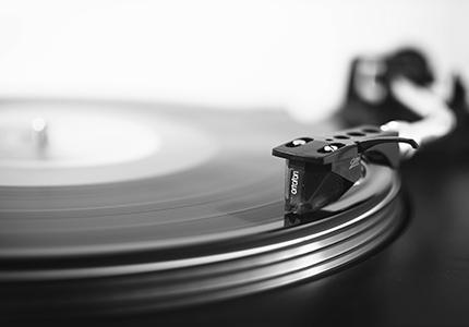 música en vinilo